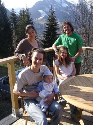 Your catered ski chalet hosts & staff 2007