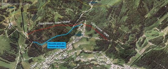 Vonne Linga ski link