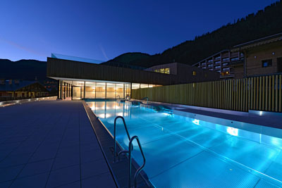 New swimming pool in chatel for Opening swimming pool after winter