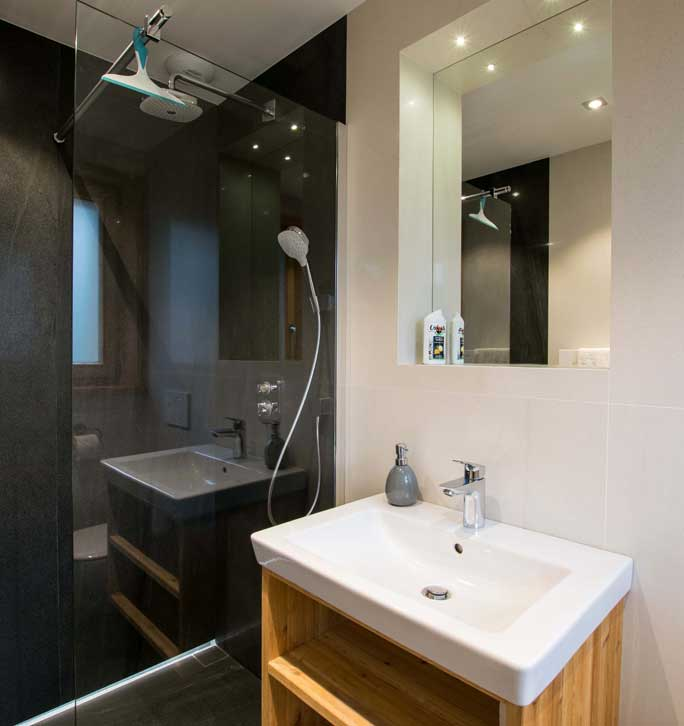 Chalet shower room